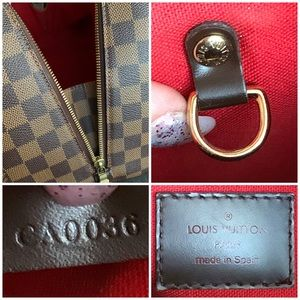 Louis Vuitton Bags - Louis Vuitton Ribera MM Damier Ebene Satchel Bag